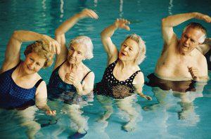 elderly exercise - senior care plano