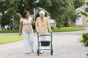 senior fall risk - university park home care
