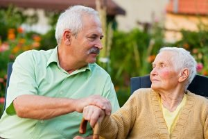dementia impacts family caregiver adult son with mother